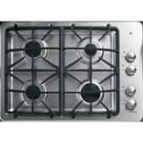 General Electric Appliances Profile™ 30 in. 4 Sealed Built-In Gas Cooktop in Stainless Steel GPGP943SETSS