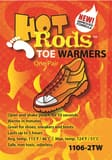 Occunomix Hot Rods Toe Warmers (1 Pair Pack) O11062TW
