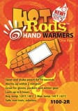 Occunomix Hot Rods Hand Warmers 1 Pack O11002R