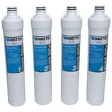 Watts Filter Kit 4 Pack for Watts PWROKC4 Kwik-Change Reverse Osmosis System WPWFPK4KC4