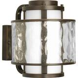 Progress Lighting Bay Court 8-3/4 in. 100W 1-Light Medium Lantern in Antique Bronze PP584920