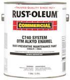 Rust-oleum 1 gal C740 Alkyd Enamel Paint in Safety Yellow R255550