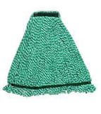 Rubbermaid Web Foot® 1 in. Microfiber Wet Mop in Green RFGA81306GR00