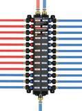 Viega North America PEX Press 14-Outlet Plastic Manifold V4914