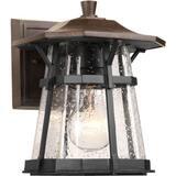 Progress Lighting Derby 1 Light 100W Outdoor Wall Lantern 8-3/8 in. Espresso PP574984