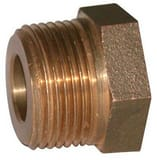 A.Y. McDonald 5/8 x 3/4 in. Meter Brass Adapter Coupling Lead Free M710J13 at Pollardwater