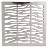 Newport Brass 4-1/16 in. Square Shower Drain in Polished Chrome N233-402/26