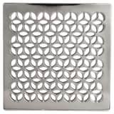 Newport Brass 4-1/16 in. Square Shower Drain in Polished Chrome N233-403/26