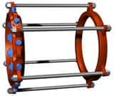 EBAA Iron 30 in. PVC Bell Restraint Harness E283600