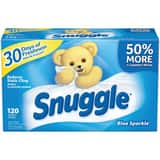 Snuggle® 120 Count Fabric Softener Sheet DCB451156