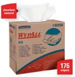 WypAll® X70 12-1/2 x 9-1/10 in. Pop-Up Box Wipes in White K83550
