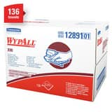 WypAll® X90 16-4/5 in. Pop-Up Wipes Box in White (Box of 136) K12891