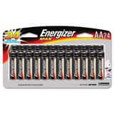 Energizer Battery Manufacturing 1.5V AA Alkaline Battery for Energizer Cameras, Portable Tape Recorders EE91SBP24H