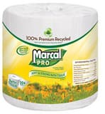 Marcal 4-1/2 in. 2-Ply Premium Recycled Bath Tissue in White (Case of 48) MAC5001