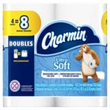 Charmin® Ultra Soft™ 176-Sheet 4-2/5 x 4-3/10 in. Toilet Tissue in White (Case of 10) P29685