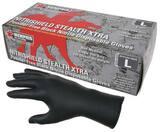 Memphis Glove Nitri-Shield™ S Size Nitrile Powder Free Glove in Black M6060S