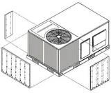 Rheem 2 in. 3-Side Louvered Kit RAXRXAAD01B