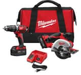 Milwaukee M18™ Cordless 18V Circular Saw 2 Tool Kit M269822