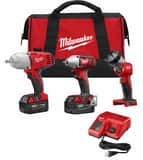 Milwaukee M18™ Cordless 18V 3 Tool Kit M269623