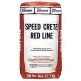 Euclid Chemical Company 50 lb. Speed Crete Red Line ETR5101650