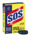 S.O.S® 12 in. Steel Wool Soap Pad 180-Pack CLO88320