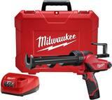 Milwaukee M12™ 10 oz. Caulk and Adhesive Gun Kit M244121