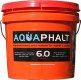 Roadstone Production Aquaphalt™ 3.5 gal Water Based Asphalt and Concrete Patch Repair RAQUAPHALT40 at Pollardwater