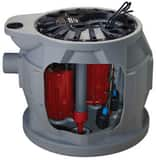 Liberty Pumps ProVore® 680 Series 1 hp 115V Single Phase 10 Cord Package Duplex Sewage Pump LP682XPRG101