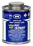 J.C. Whitlam 1 pt Low Volatile PVC Heavy-Bodied Cement WHPL16
