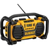DEWALT Heavy Duty Radio in Black and Yellow DDC012CL