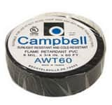 Campbell Manufacturing 60 ft. Electrical Tape CET60LF