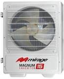 Mirage Southwest Magnum® 12 MBH Floor Mount Outdoor 1 Ton Mini-Split Heat Pump MC20H121W