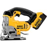 DEWALT Max® Cordless Jig Saw Kit in Black, Silver and Yellow DDCS331M1
