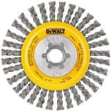 DEWALT 4 x 5/8 in. Carbon Stringer Wire Wheel DDW4925B at Pollardwater