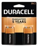 Duracell 9V Alkaline Battery 2-Pack DMN1604B2Z at Pollardwater