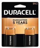 Duracell Coppertop® 9V Alkaline Battery 2-Pack DMN1604B2Z at Pollardwater
