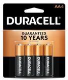 Duracell Size AA Batteries 4-Pack DMN1500B4PK
