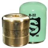 JB Industries The Shield™ 1/4 in. Locking Cap in Green 12 Pack JSHLDG12