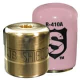 JB Industries The Shield™ 1/4 in. Shield Locking Cap in Pink JSHLDP50
