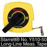 L.S. Starrett 100 ft. Reel Tape in Yellow SY510100