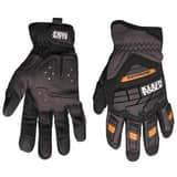 Mechanix Wear M-Pact® L Size Synthetic Leather, Spandex and Thermal Plastic Rubber Work Gloves MNXMP205010