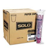 Solo Bistro® 12 oz. Hot Paper Cup in Maroon (Case of 50) SCC412SIN