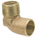 Elkhart Products Corporation 3/4 x 1 in. Copper x Male 90 Degree Elbow CCM9LFFG