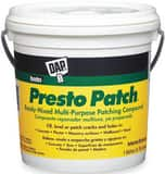 DAP Presto Patch® 1 gal Ready Mixed Patching Compound in Off White D58555