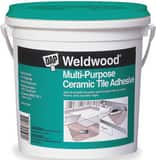 DAP Weldwood® 1 gal Multi-Purpose Ceramic Tile Adhesive in White D25192
