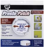 DAP Presto Patch® 6-7/8 in. Wall Repair Patch D09157