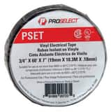 PROSELECT® 3/4 in. x 60 yd. Black Electrical Tape PSXET