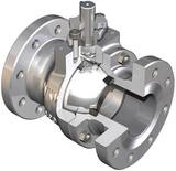 WKM 3 in. 600# Carbon Steel Full Port Nace Firesafe Ball Valve with Wall Ring WB182CS242S2WRM