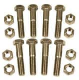 1/2 in. 150# Stainless Steel Nut and Bolt Flange Kit FNWNBSS61D