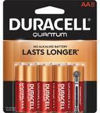 Duracell Quantum 1.5V AA Quantum Battery 8-Pack DQU1500B8BCD